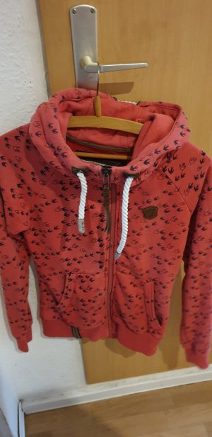 Naketano Veste sweat rouge