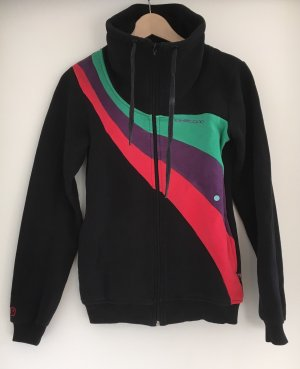 Naketano Sweatjacke Schwarz in XS