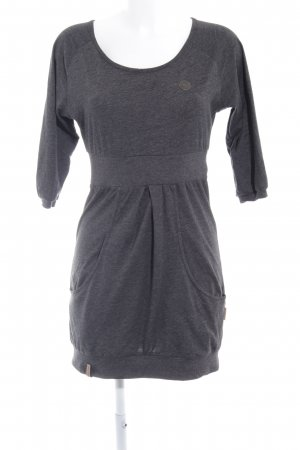 Naketano Sweat Dress taupe casual look