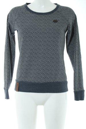 Naketano Sweatshirt grafisches Muster Casual-Look