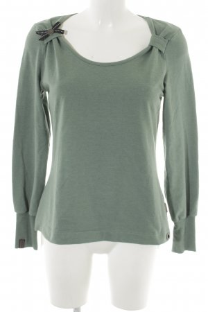 Naketano Sweatshirt blassblau Casual-Look