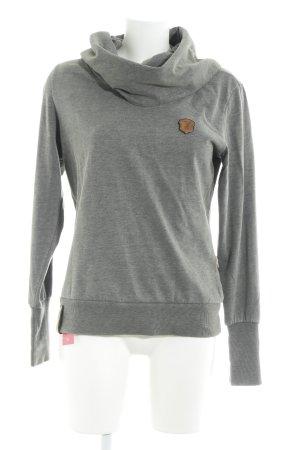 Naketano Sweatshirt grau Casual-Look