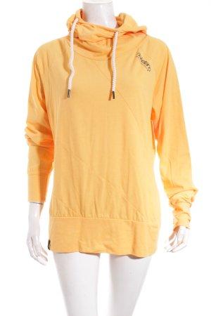 Naketano Sweatshirt hellorange sportlicher Stil
