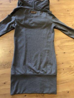 Naketano Sweatshirt Kleid Longpullover Gr.S Grau wie Neu
