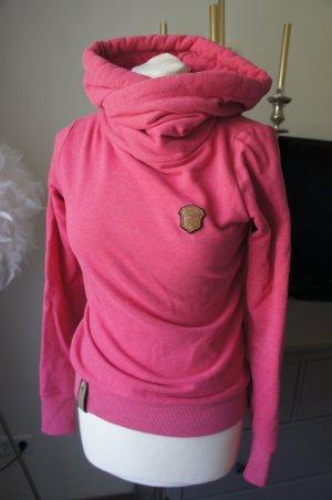 NAKETANO Sweetshirt Größe XS 34 rosa