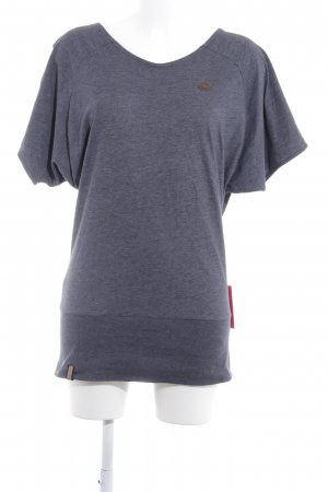 Naketano T-Shirt graublau Casual-Look