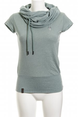Naketano T-Shirt graugrün schlichter Stil