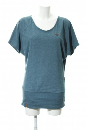 Naketano T-Shirt petrol Casual-Look