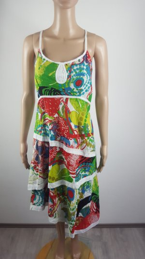 High Low Dress multicolored