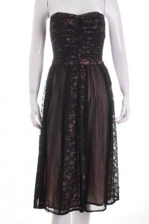 Nanette Lepore Cocktail Dress black-pink party style