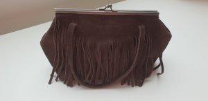 Nannini Fringed Bag brown