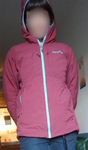 Patagonia Outdoor Jacket multicolored synthetic