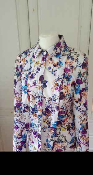 Naoko, edle florale Bluse, Gr.40