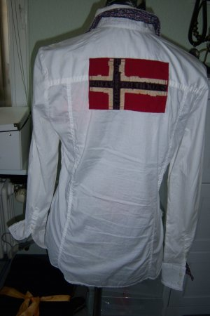 Napapijri Bluse in weiß
