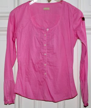 Napapijri Bluse pink rosa Gr. XS 34 Logo NEU Tunika