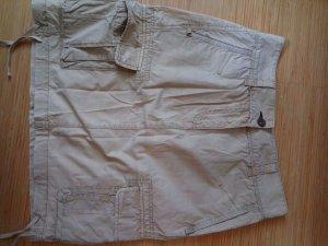 Napapijri Jupe cargo brun sable-beige clair coton