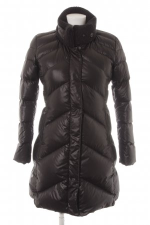 Napapijri Down Coat black quilting pattern casual look