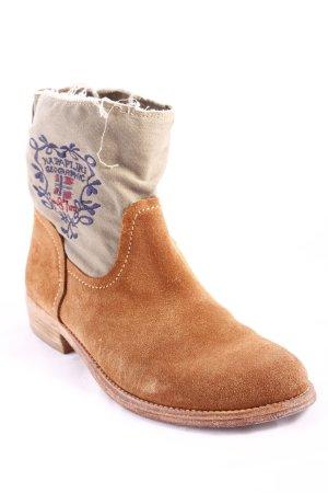 Napapijri Desert Boots hellbraun Casual-Look