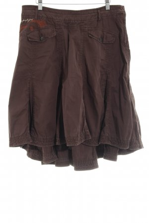 Napapijri Jupe à plis brun style décontracté