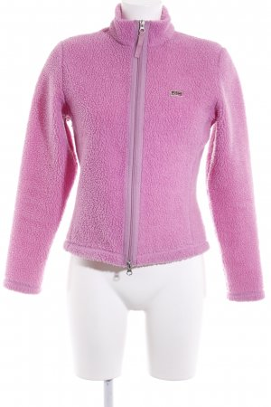 Napapijri Fleecejacke pink Casual-Look