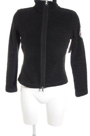 Napapijri Fleece Jackets black athletic style