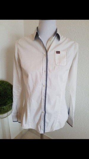 Napapijri Hemd Bluse in weiß Gr L