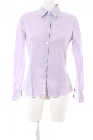 Napapijri Hemd-Bluse lila Streifenmuster Business-Look