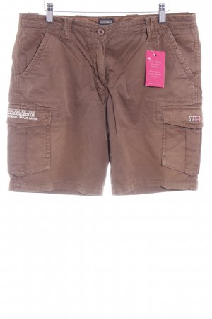 Napapijri Hot Pants braun Safari-Look