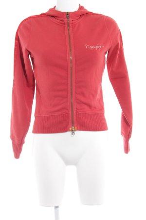 Napapijri Kapuzensweatshirt rot sportlicher Stil