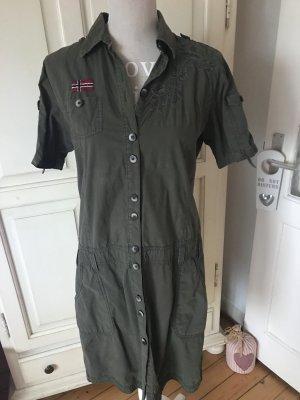 Napapijri Kleid Farbe Khaki Neuwertig 199€