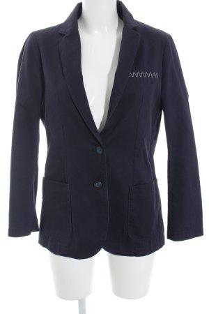 Napapijri Kurz-Blazer dunkelblau Street-Fashion-Look
