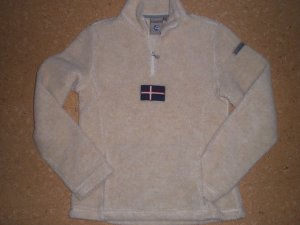 Napapijri - kuscheliger Teddy-Fleece-Pully - Top-Zustand