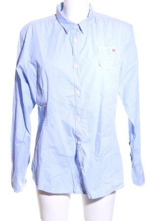 Napapijri Langarm-Bluse blau Business-Look