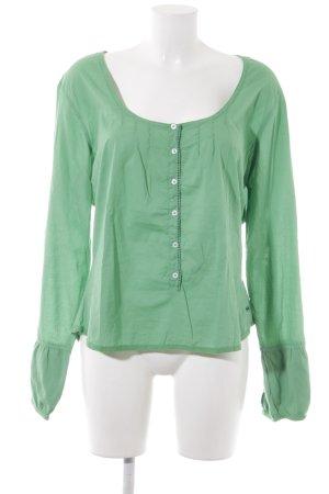 Napapijri Langarm-Bluse grün Casual-Look