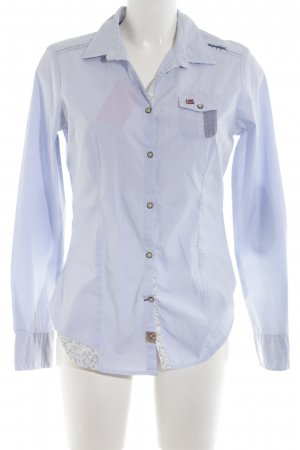 Napapijri Langarmhemd blau Business-Look