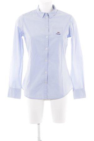 Napapijri Chemise à manches longues bleu azur style d'affaires