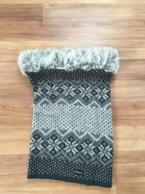 Napapijri Tube Scarf light grey-white