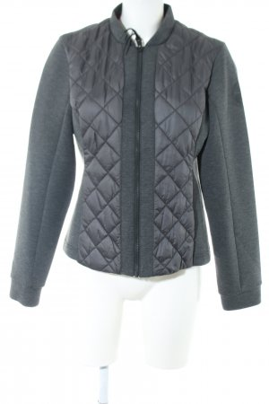 Napapijri Outdoor Jacket light grey quilting pattern casual look