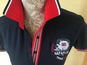 NAPAPIJRI Polo-Shirt Gr. XL (fällt kleiner aus)