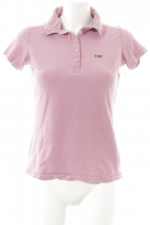 Napapijri Polo-Shirt rosa Segel-Look