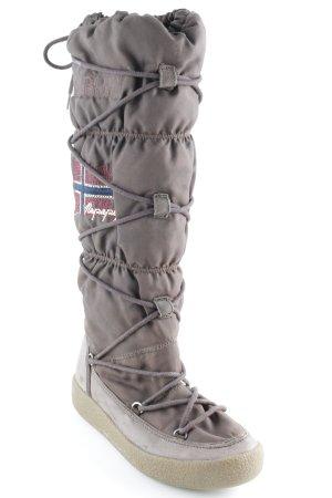 Napapijri Lace-up Boots brown casual look