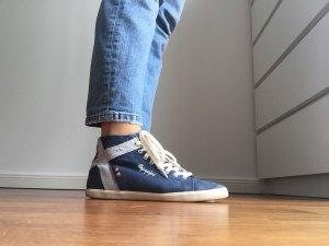 Napapijri Schuhe Sneakers Schnürschuhe Dunkelblau