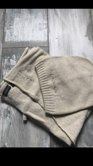 Napapijri Set Schal und Mütze Goldfarbenen Glitzer 169€