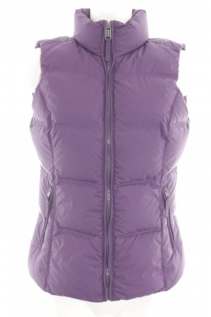Napapijri Quilted Gilet lilac quilting pattern casual look