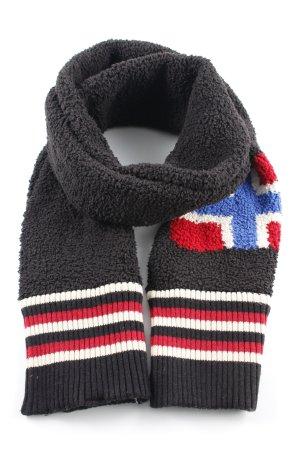 Napapijri Gebreide sjaal veelkleurig college stijl