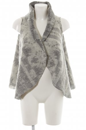 Napapijri Knitted Vest anthracite-natural white flecked casual look