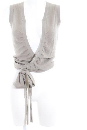 Napapijri Smanicato lavorato a maglia marrone chiaro stile casual