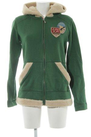 Napapijri Sweatshirt grün Casual-Look