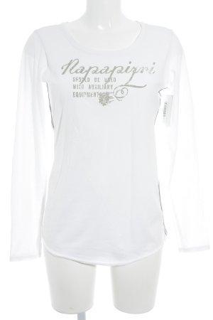 Napapijri Sweatshirt Schriftzug gedruckt Casual-Look