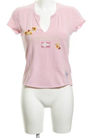 Napapijri T-Shirt Blumenmuster Casual-Look